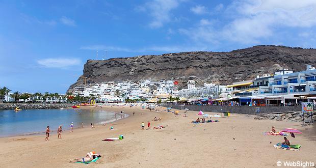 Puerto de Mogán strand