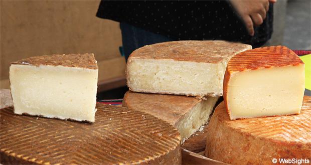 Gran Canaria marknad ost